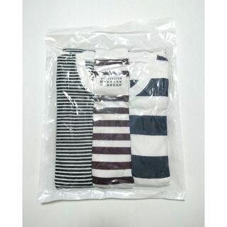 マルタンマルジェラ(Maison Martin Margiela)のL メゾン マルジェラ パックT ボーダー 3枚 セット Tシャツ(Tシャツ/カットソー(半袖/袖なし))