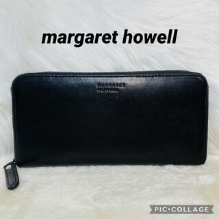 MARGARET HOWELL - margaret howell 長財布 ラウンドファスナー長財布 男女兼用