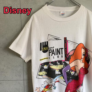 Disney - 80s Disney ヴィンテージシャツ ロジャーラビット ジェシカ USA製