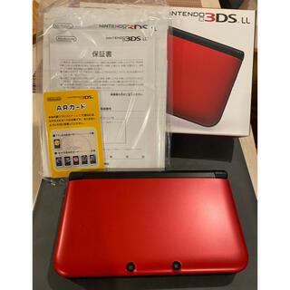ニンテンドウ(任天堂)のNintendo 3DS  LL 本体 レッド/ブラック(携帯用ゲーム機本体)