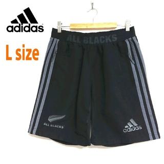 adidas - adidas アディダス  黒 & グレー ショートパンツ ハーフパンツ L