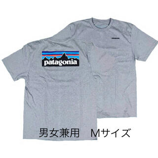 パタゴニア(patagonia)のパタゴニアTシャツ グレー Mサイズ ベストセラー アウトドア 半袖 夏T(Tシャツ/カットソー(半袖/袖なし))