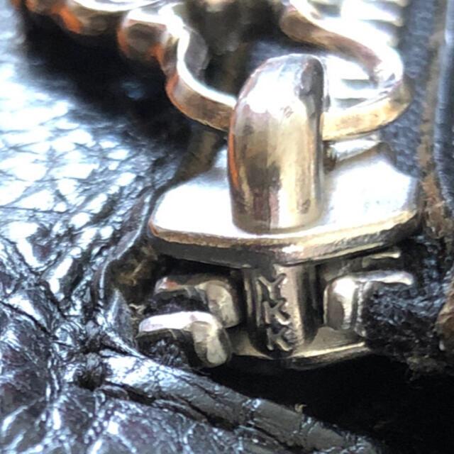 Chrome Hearts(クロムハーツ)のクロムハーツ  ウェーブウォレット ヘビーレザー メンズのファッション小物(長財布)の商品写真
