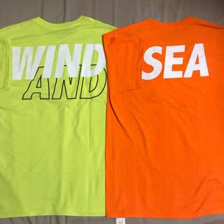 Supreme - wind and sea Tシャツ 2枚セット ウィンダシー オレンジ イエロー