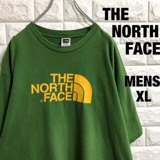 THE NORTH FACE - 人気カラー ノースフェイス デカロゴ 半袖Tシャツ メンズXLサイズ