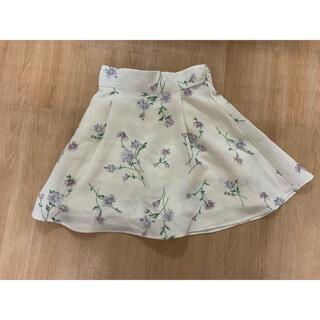 マジェスティックレゴン(MAJESTIC LEGON)のレディース   花柄スカート(ミニスカート)