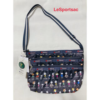 レスポートサック(LeSportsac)の【新品】レスポートサック QUINN BAG/スヌーピー ピーナッツオールスター(ショルダーバッグ)