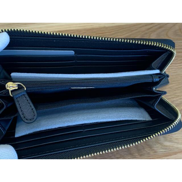 Vivienne Westwood(ヴィヴィアンウエストウッド)のヴィヴィアンウエストウッド 長財布 ブラック 55VV324 メンズのファッション小物(長財布)の商品写真
