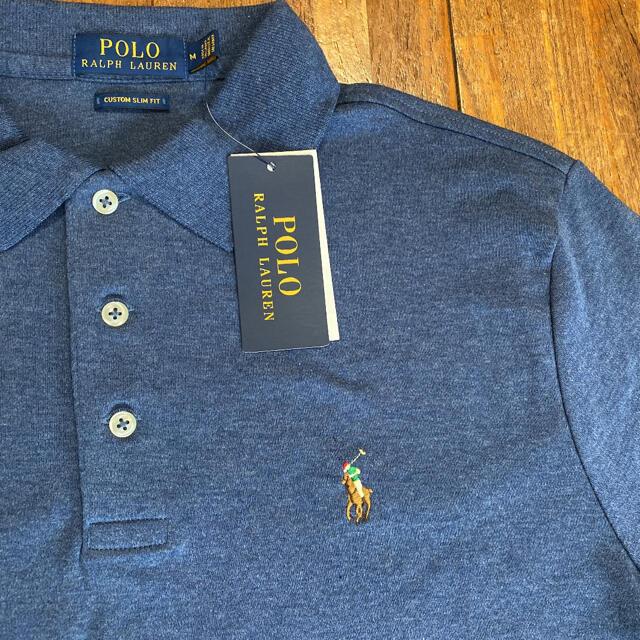 POLO RALPH LAUREN(ポロラルフローレン)の【 正規品 新品 タグ付き 】ラルフローレン ポロシャツ POLO ♪Mサイズ メンズのトップス(ポロシャツ)の商品写真
