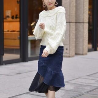 MIIA - MIIA チュール マーメイドスカート