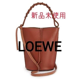 LOEWE - LOEWE🖤ゲート バケット ハンドル バッグ♡ナチュラル カーフ