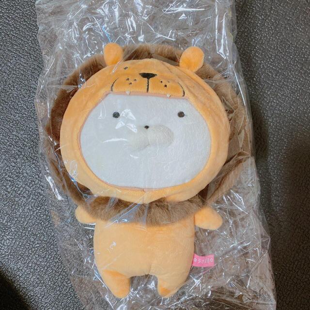 うさまる ライオン ぬいぐるみ エンタメ/ホビーのおもちゃ/ぬいぐるみ(ぬいぐるみ)の商品写真