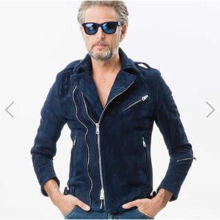 ウノピゥウノウグァーレトレ(1piu1uguale3)の1piu1uguale3✩suede riders jacket(レザージャケット)