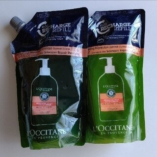 L'OCCITANE - ロクシタン ファイブハーブスリペアリングシャンプー&コンディショナー
