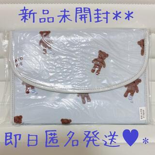 ジェラートピケ(gelato pique)のジェラートピケ  マスクポーチ 母子手帳ケース テディベア ジャバラ(ポーチ)