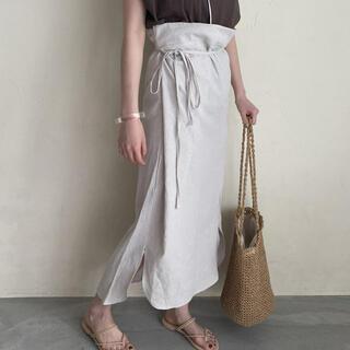 トゥデイフル(TODAYFUL)のi_am 2way wrap skirt(ロングスカート)