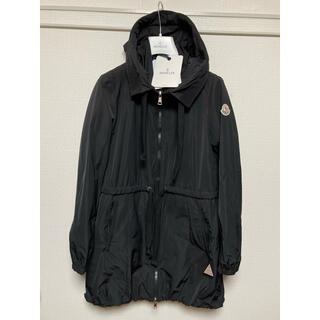 モンクレール(MONCLER)の極美品 モンクレール トパーズ コート 黒 0 ナイロンジャケット ブラック(スプリングコート)