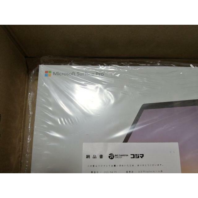 【新品未開封】Surface Pro 7 VDV-00014 プラチナ スマホ/家電/カメラのPC/タブレット(タブレット)の商品写真