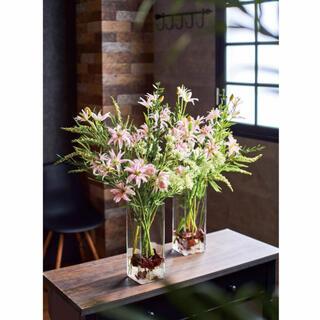 フランフラン(Francfranc)のFrancfrancスクエアガラス花瓶(花瓶)