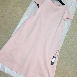 フォクシー(FOXEY)のFOXEY NY ワンピース 店舗限定カラー ピンク(ひざ丈ワンピース)