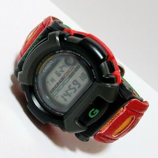ジーショック(G-SHOCK)のG-SHOCK DW-002BM-9 レゲエ ラスタカラー ボブマーリー(腕時計(デジタル))