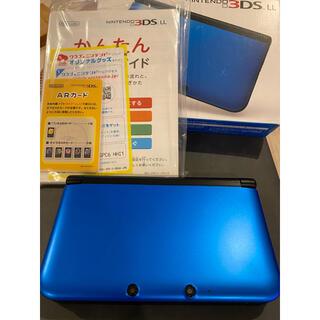 ニンテンドウ(任天堂)のNintendo 3DS  LL 本体ブルー/ブラック(携帯用ゲーム機本体)