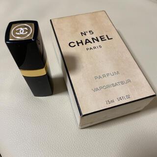 シャネル(CHANEL)のシャネル No.5パルファム 7.5ml(香水(女性用))