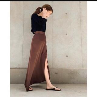 Ameri VINTAGE - louren ローレン マーメイドスリット スカート2019ss