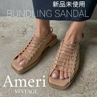 Ameri VINTAGE - 新品 AMERI BUNDLING SANDAL レースアップ サンダル
