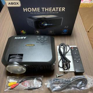 ABOX プロジェクター 小型 1080*720P ホームシアター