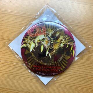 ユニバーサルスタジオジャパン(USJ)の缶バッジ 金雷公ジンオウガ USJ(キャラクターグッズ)