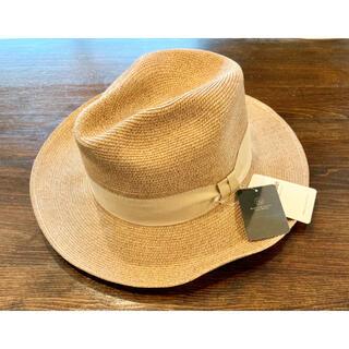ビューティアンドユースユナイテッドアローズ(BEAUTY&YOUTH UNITED ARROWS)の新品!FERRUCCIO VECCHI フェリシオベッキ ブレードリボンハット(麦わら帽子/ストローハット)