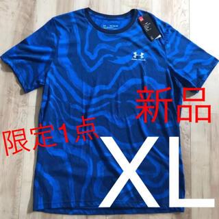 UNDER ARMOUR - ☆新品☆アンダーアーマー メンズヒートギアTシャツ ブルー XLサイズ