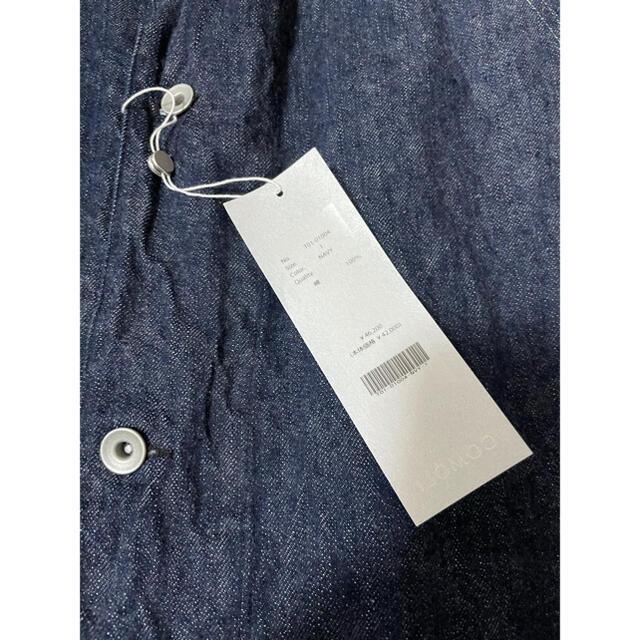 COMOLI(コモリ)のCOMOLI コモリ デニム ワークジャケット 21SS メンズのジャケット/アウター(カバーオール)の商品写真