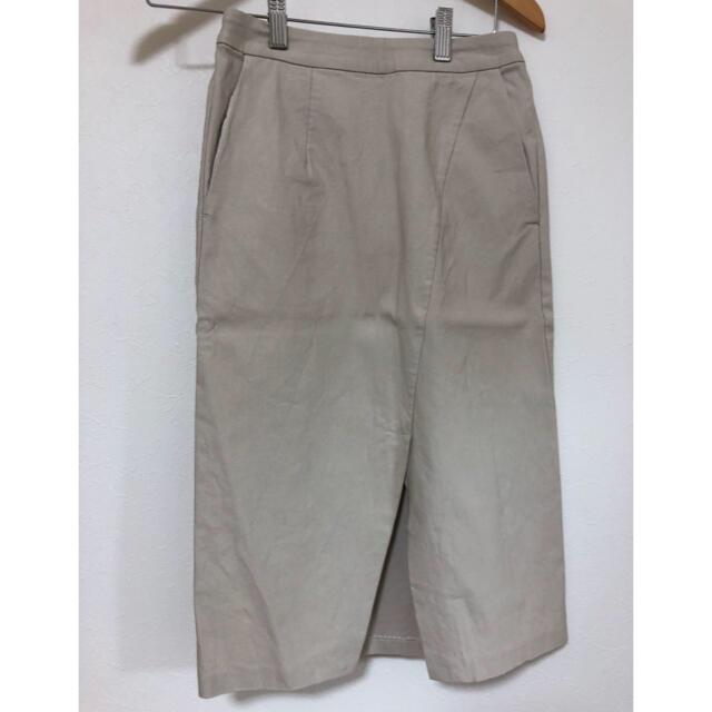 SENSE OF PLACE by URBAN RESEARCH(センスオブプレイスバイアーバンリサーチ)のタイトスカート センスオブプレイス ベージュ アーバンリサーチ レディースのスカート(ひざ丈スカート)の商品写真