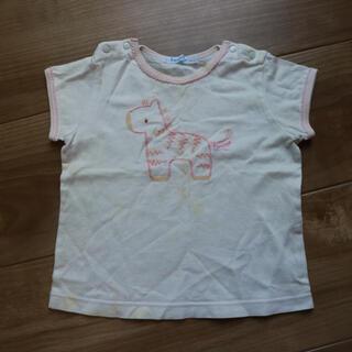 familiar - 難あり familiar 刺繍Tシャツ 80
