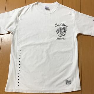 nano・universe - Tシャツ ナノユニバース✖️チャンピオンコラボ 白 M