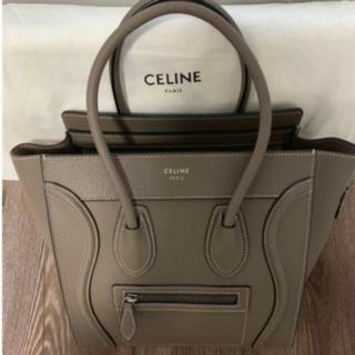 celine - CELINEマイクロラゲージバッグ