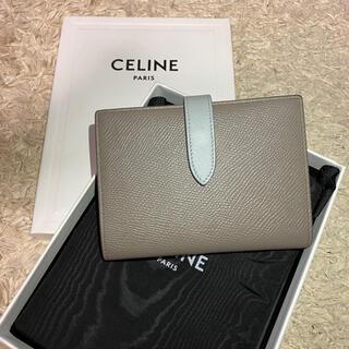 celine - CELINE セリーヌ 二つ折り財布 ミディアム ストラップウォレット