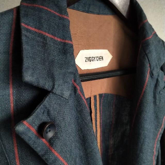 Paul Harnden(ポールハーデン)のZIGGY CHEN ss16 china stripe jacket メンズのジャケット/アウター(テーラードジャケット)の商品写真
