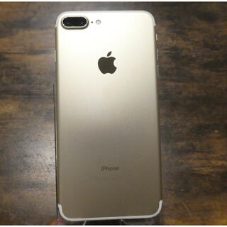 iPhone - iPhone7Plus 本体 ゴールド 128GB SIMフリー 送料無料