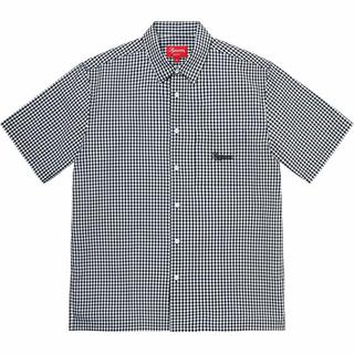 Supreme - M 黒 Supreme Gingham S/S Shirt black シャツ