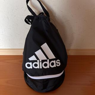 adidas - adidasプールバック*黒
