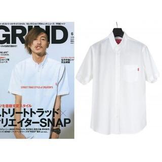シュプリーム(Supreme)のSUPREME コットン テンセル ロゴタブ 半袖シャツ ホワイト (シャツ)