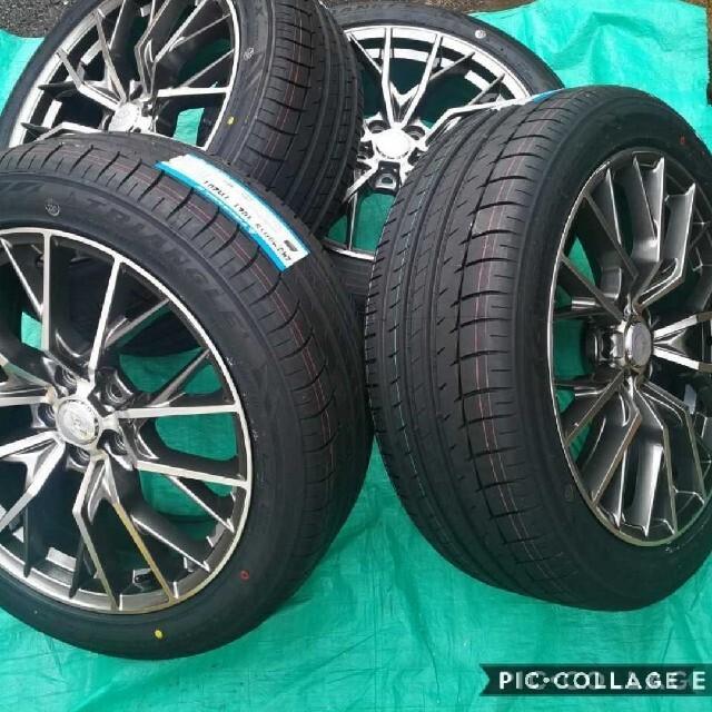 トヨタ(トヨタ)の新品 トヨタ タイヤ&ホイール4本セット トヨタ 30アルファード 30ヴェルフ 自動車/バイクの自動車(タイヤ・ホイールセット)の商品写真