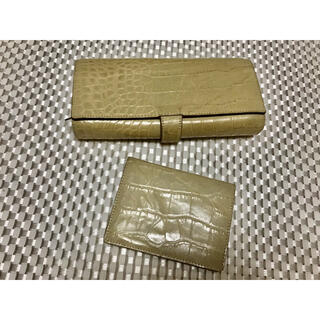 アンメートルキャレ(1metre carre)のアンキャレ 長財布とカードケース(財布)
