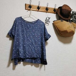 coen - coen 可愛いドット柄のTシャツ