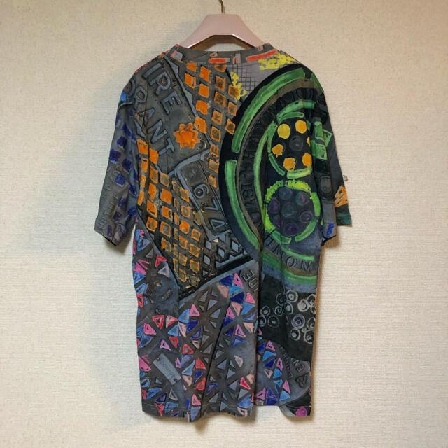Vivienne Westwood(ヴィヴィアンウエストウッド)のマンホール柄 Tシャツ メンズのトップス(Tシャツ/カットソー(半袖/袖なし))の商品写真