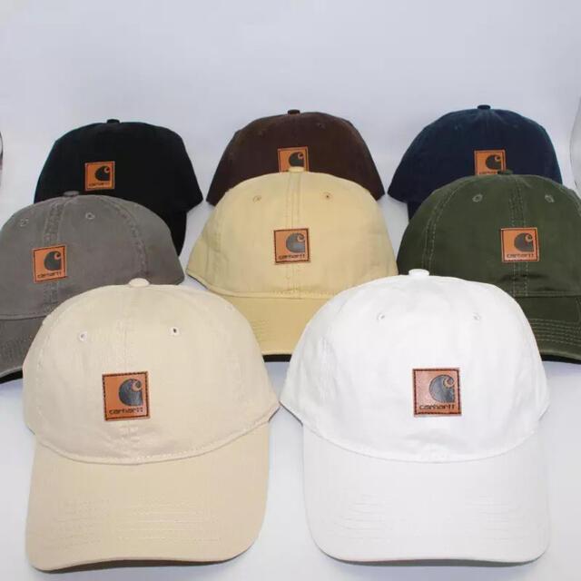 carhartt(カーハート)のcarhartt カーハート cap キャップ 帽子 カーキ メンズの帽子(キャップ)の商品写真
