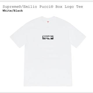 Supreme - Supreme®/Emilio Pucci® Box Logo Tee Mサイズ